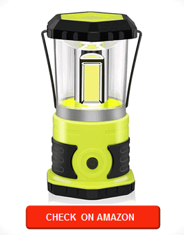 Anhay Rechargeable LED Camping Lantern, 1800 Lumens, 4 Light Modes, IPX44 Waterproof, Ultra Bright Camping Lamp with 4600mAh Power Bank