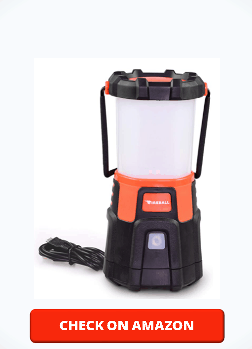 Blazin Fireball Brightest Dimmable LED Lantern Rechargeable USB 1000 Lumen Storm, Hurricane, Emergency Light Power Outage Power Bank For Phones Rechargeable Lamps
