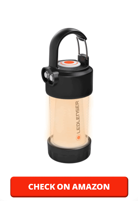 Ledlenser, ML4 Outdoor Lantern, Ultra-Compact Area Lighting, 300 Lumens, Rechargeable Battery