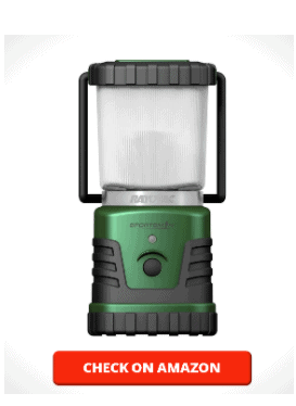 Rayovac Sportsman LED Camping Lantern Flashlight, 305 Lumens Battery Powered LED Lanterns for Hurricane Supplies, Survival Kit, Camping Accessories, Water Resistant